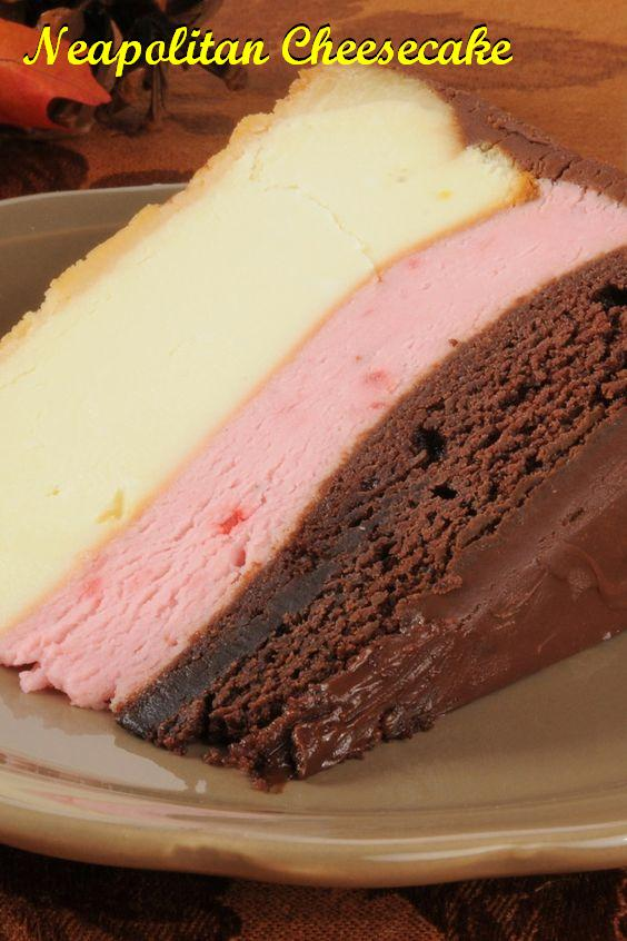 neapolitan-cheesecake