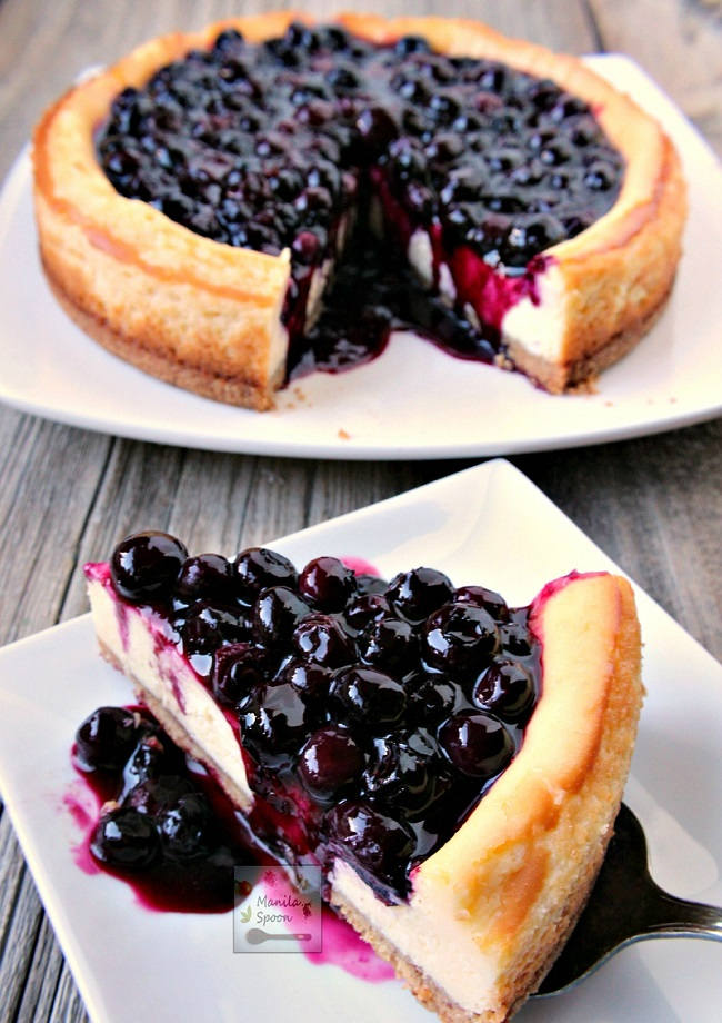 Yummy-Blueberry-Cheesecake