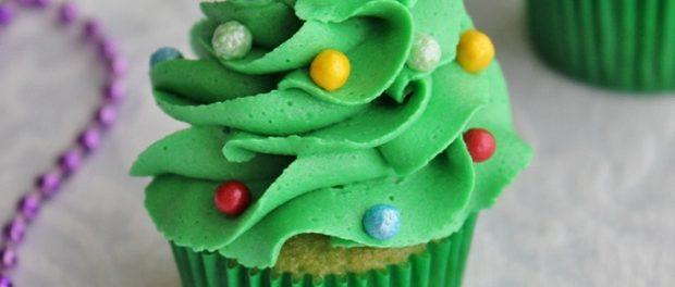 Mini-Christmas-Tree-Cupcake