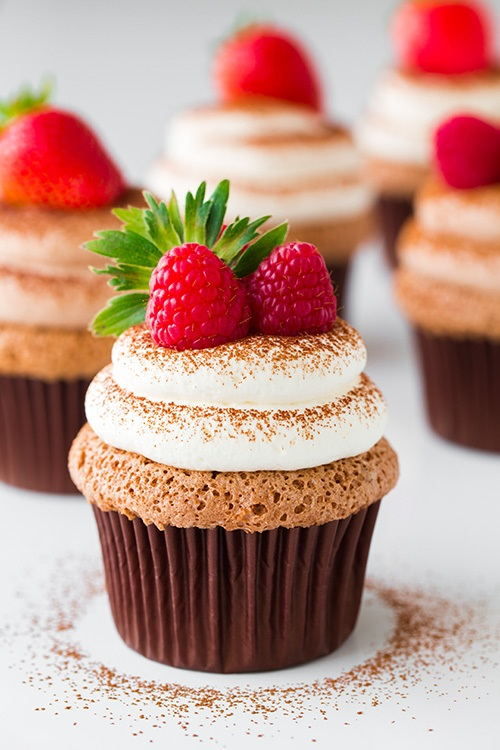 chocolate-angel-food-cupcakes