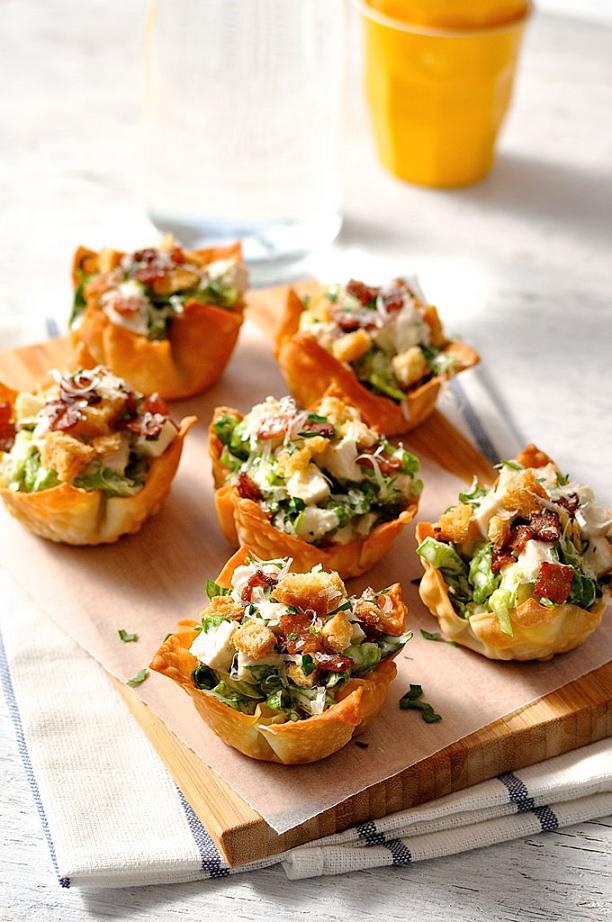 caesar-salad-wonton-cups-1