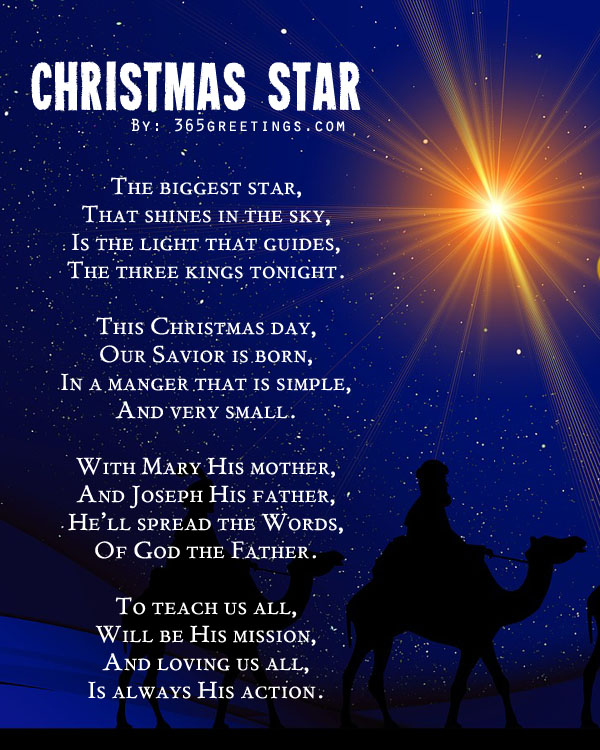 Legend Of The Christmas Tree Poem: Christmas-poem-for-friends